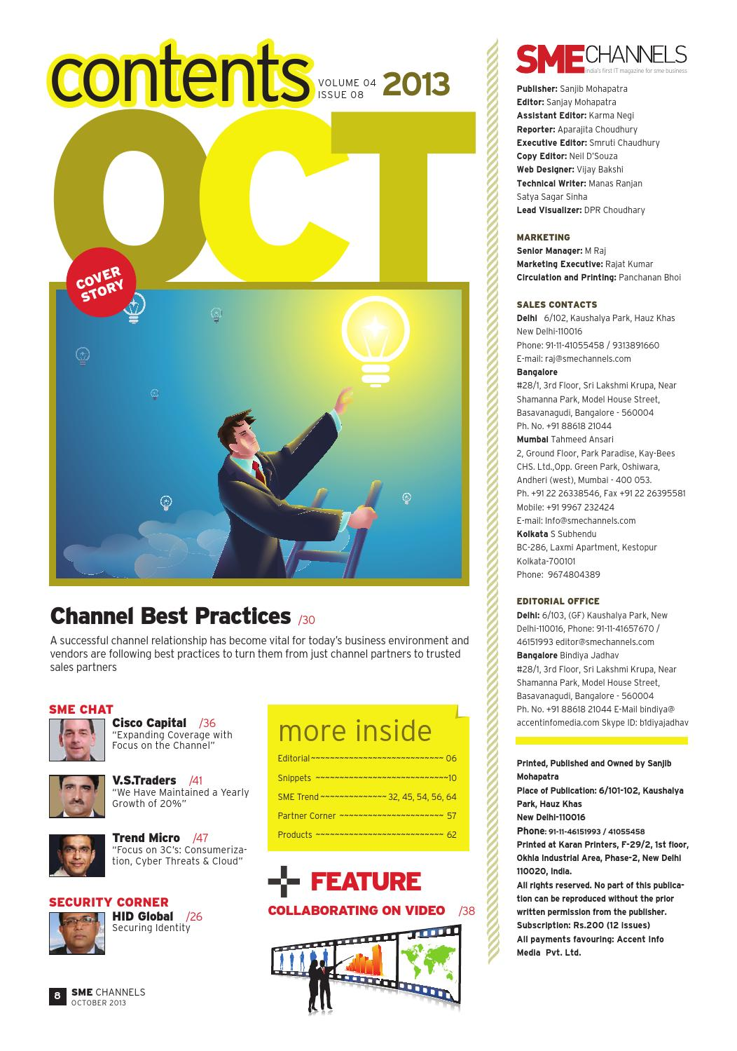 Sme channels october 13 by SME Channels - issuu