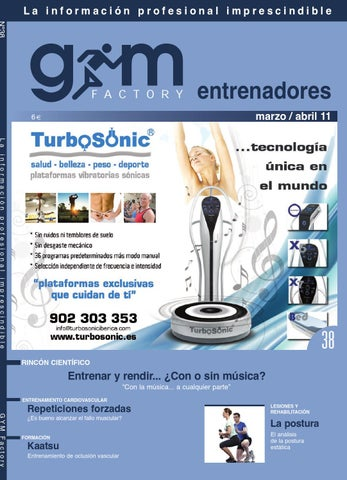 Gym Factory nº38 Entrenadores Marzo - Abril 2011 by Gym Factory ... 95d5377dda3ff
