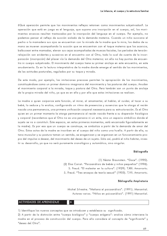 La Infancia El Cuerpo La Estructura Familiar By Centro