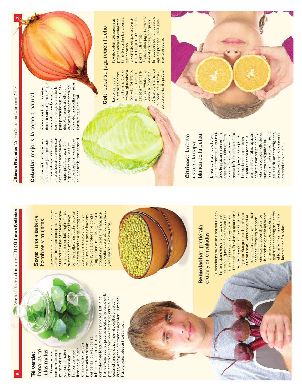 citricos y prostata