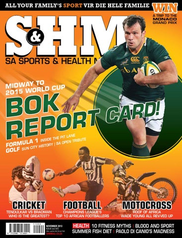 c9d3abb2fb Sports & Health Monthly (SHM) by Chapel Lane Media - issuu