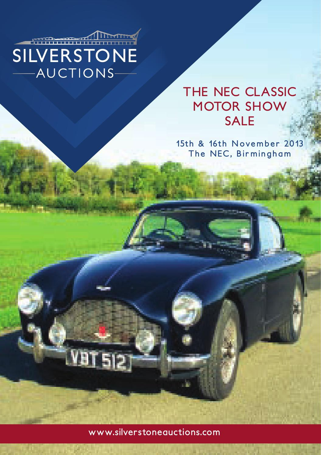 Silverstone auctions nec classic motor show sale 40 by Caroline ...