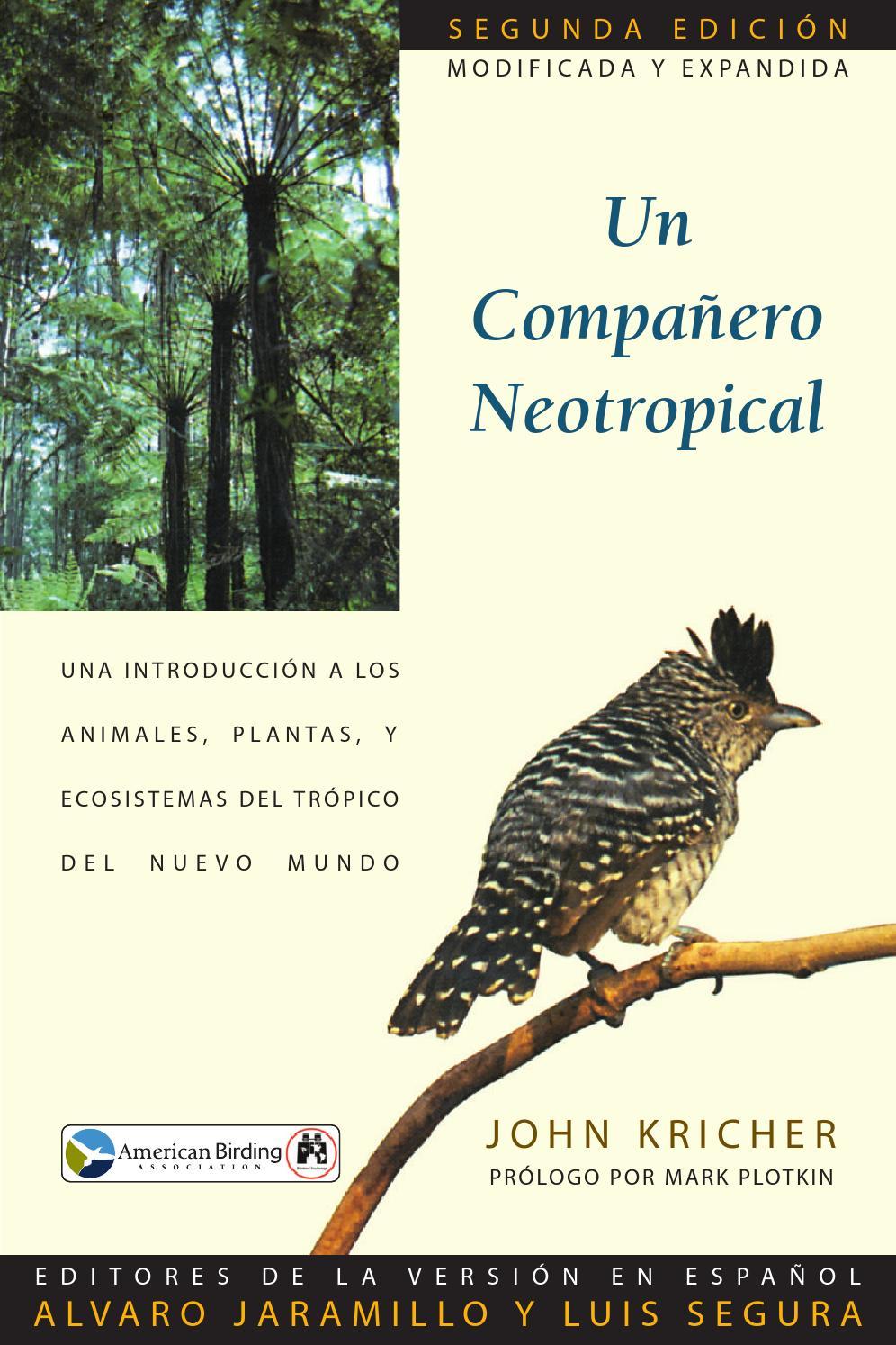 the best attitude 20e89 7cb7d Aneotropicalcompanion by Armando Rosas - issuu