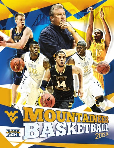 2013-14 West Virginia University Men s Basketball Guide by Joe Swan ... 5ad142ade