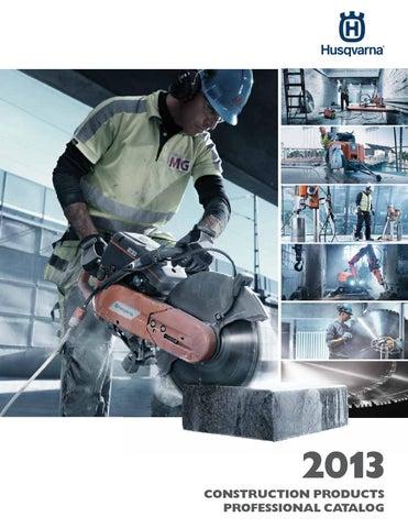 2013 Husqvarna Construction Products Catalog - US