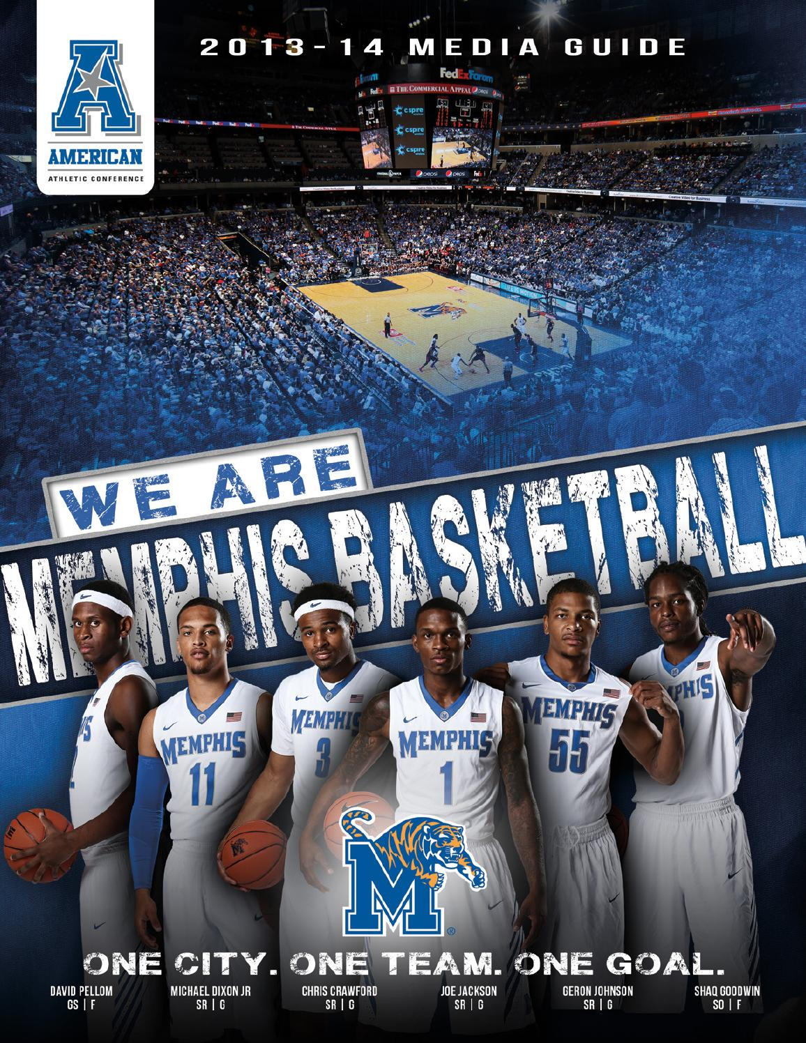 1f11aa6cc 2013-14 Memphis Tigers Men s Basketball Media Guide by University of  Memphis Athletic Media Relations - issuu