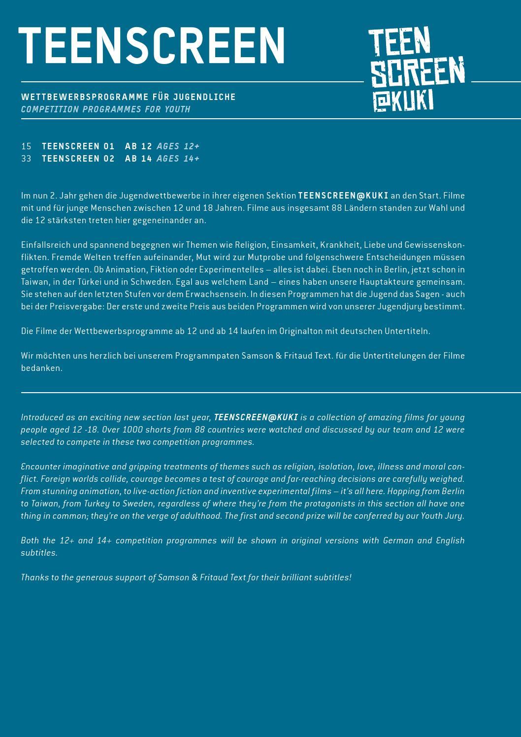 Kuki 6th International Short Film Festival For Children And Youth