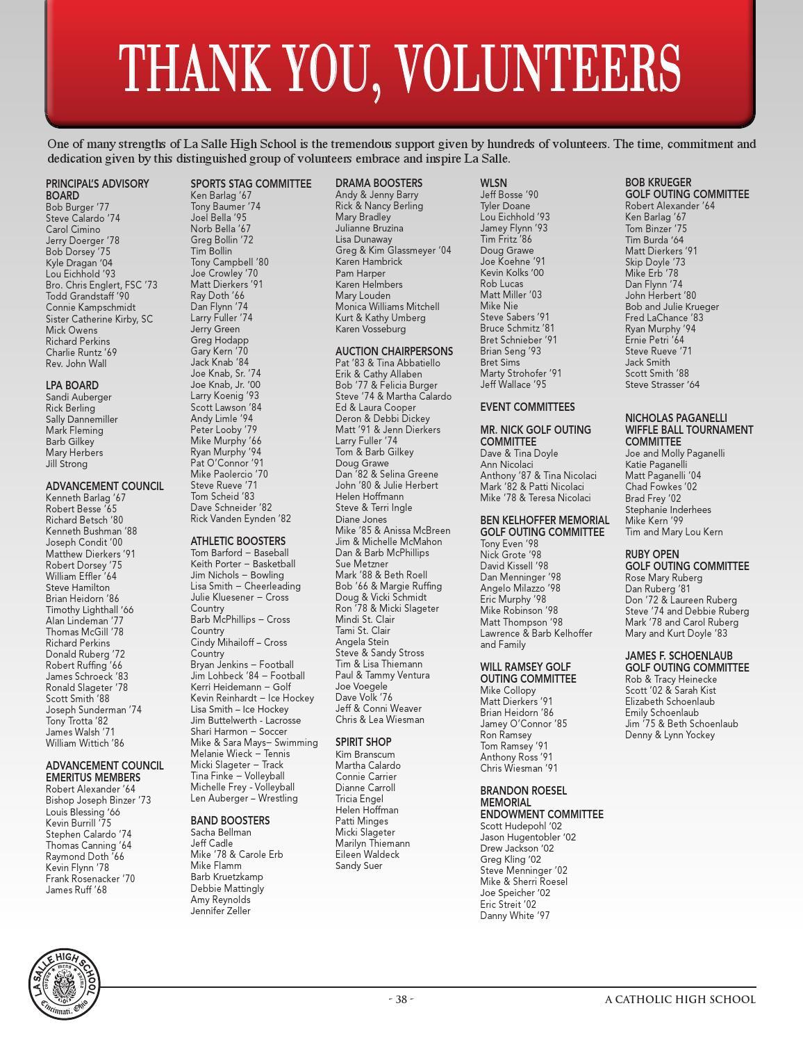 La Salle Annual Report 2012 by Peerless Printing - issuu