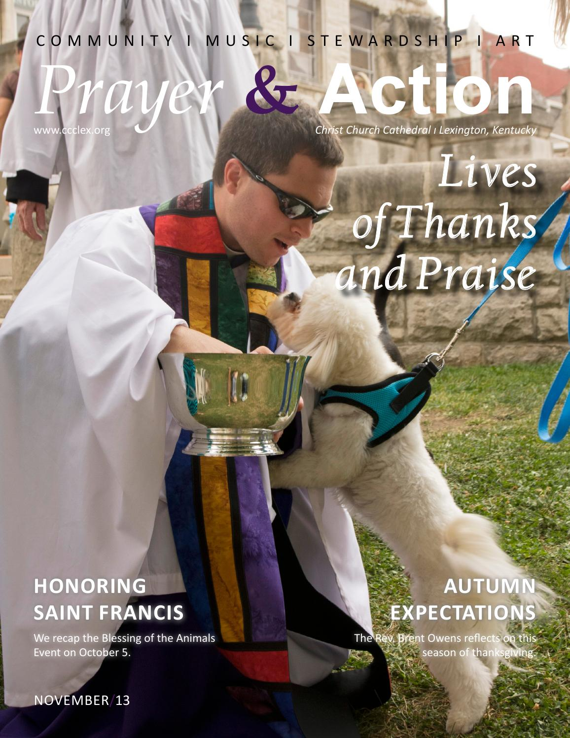 November 2013 Prayer & Action by Christ Church Cathedral - issuu