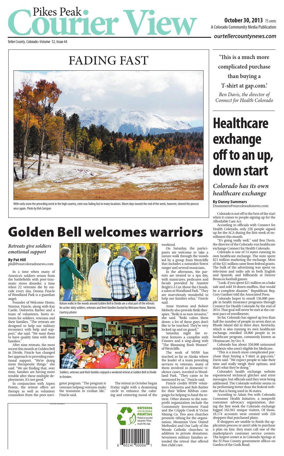 Spr303274che Weihnachten.Pikes Peak Courier View 1030 By Colorado Community Media Issuu