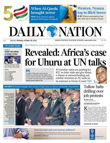 Daily Nation Monday 28th October 2013 By Doktakola Sport Issuu