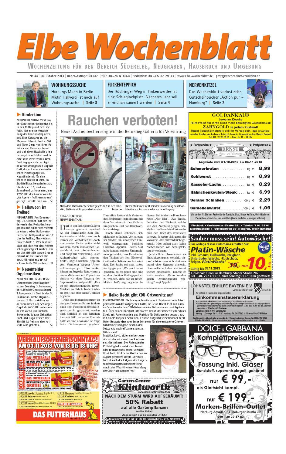 Süderelbe KW44-2013 by Elbe Wochenblatt Verlagsgesellschaft mbH & Co.KG -  issuu