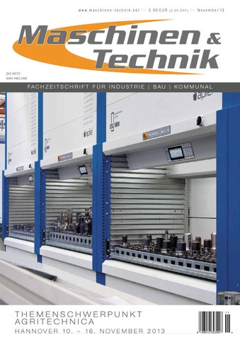 Maschinen & Technik | November 2013 by TB Verlag - issuu