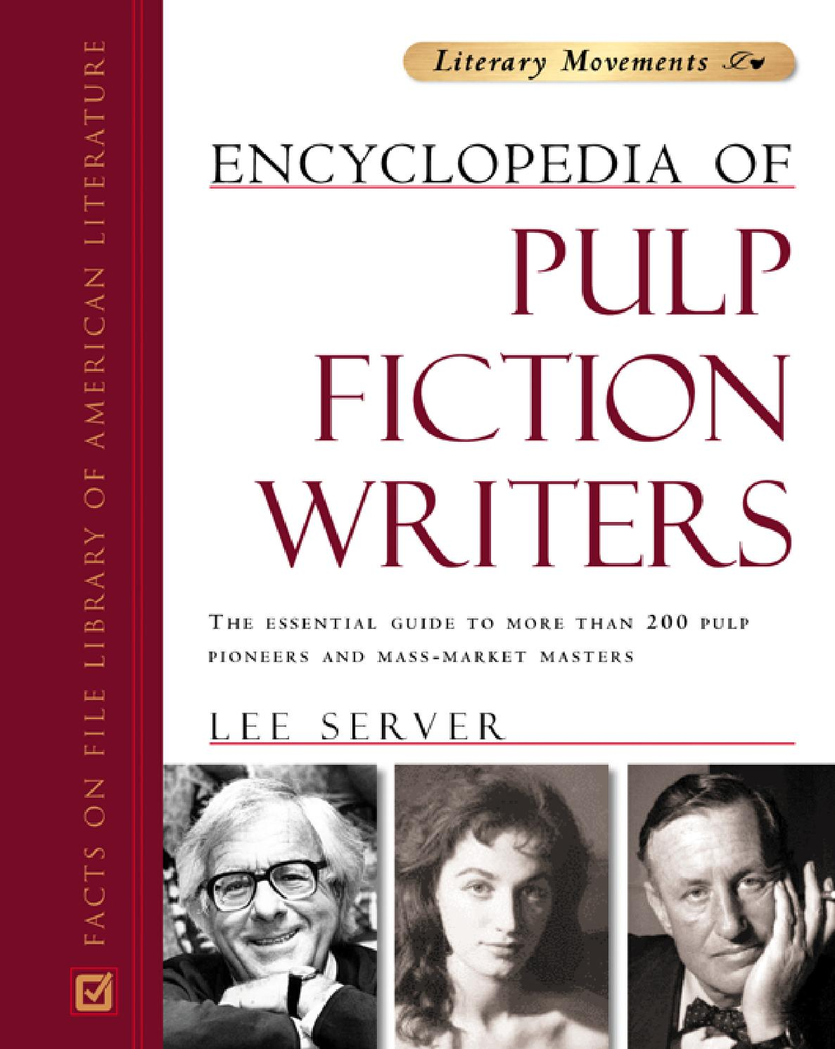 Encyclopedia Of Pulp Fiction Writers By Rodrigo De Faveri Issuu Tcash Vaganza 35 Viva Skin Food Cream 30 G