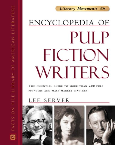 Encyclopedia Of Pulp Fiction Writers By Rodrigo De Faveri Issuu