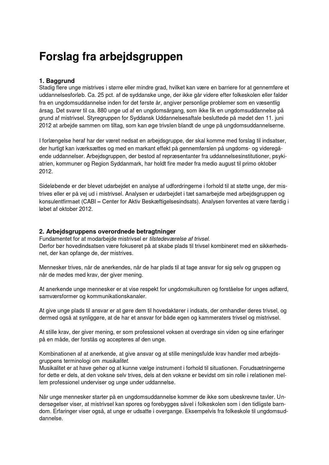 a77e7f0075e Arbejdsgruppens anbefalinger by Jonas Svane Jakobsen - issuu