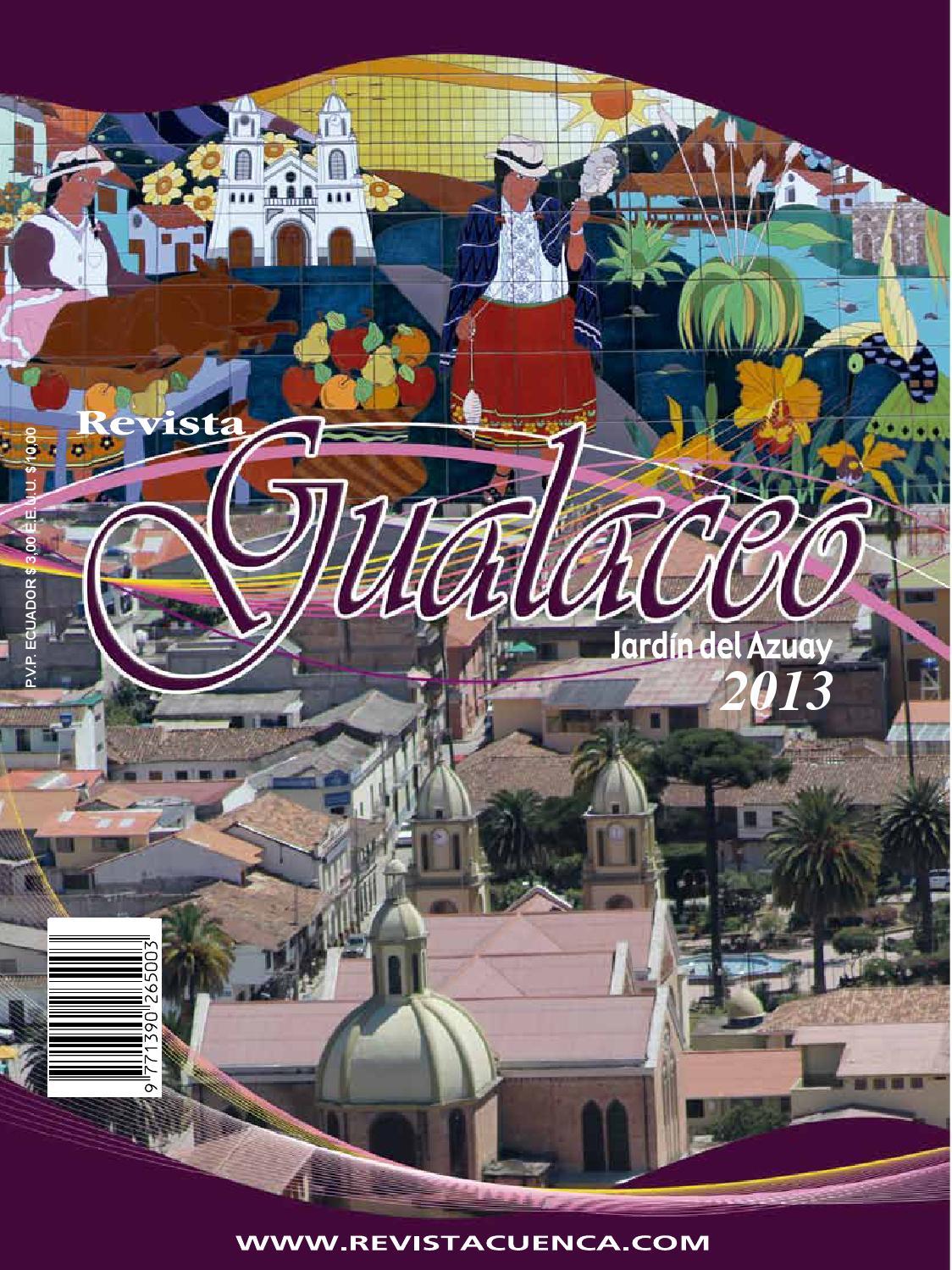 d9b34da9c0df7 Gualaceo 2013 by Revista Cuenca - issuu
