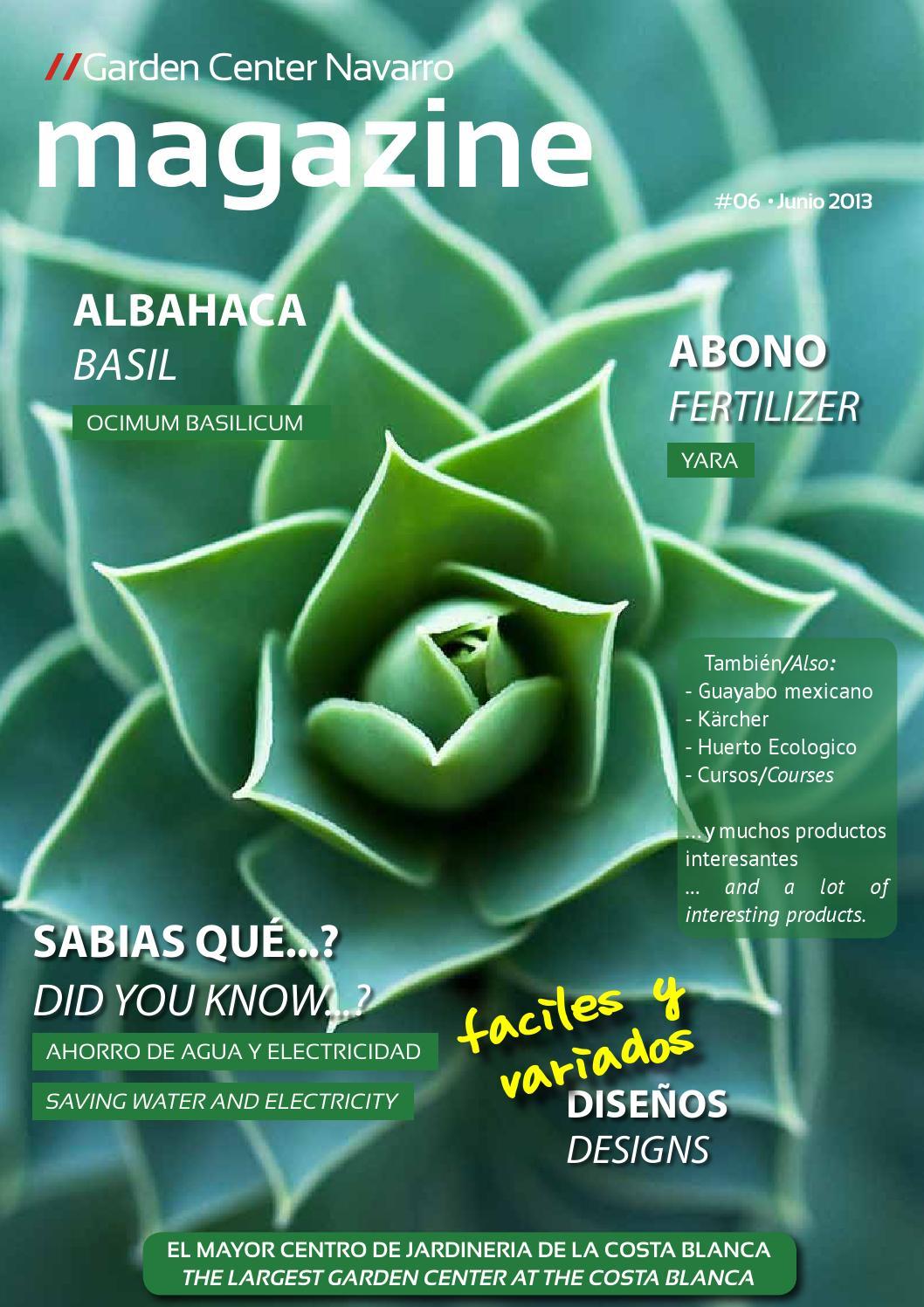 Garden center navarro magazine 6 by garden center navarro for Jardineria navarro