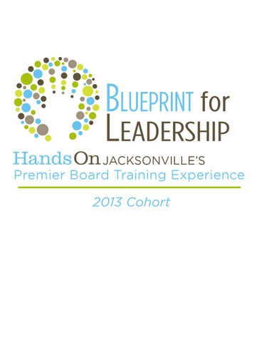 2013 blueprint for leadership yearbook by handson jacksonville issuu blueprint for l eadership jacksonvilles malvernweather Images