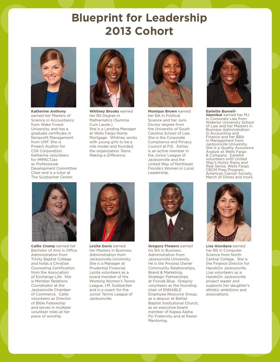 2013 blueprint for leadership yearbook by handson jacksonville issuu 1betcityfo Images