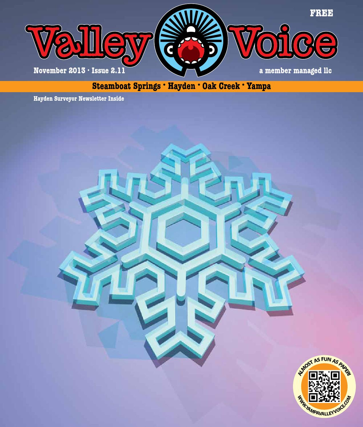 Valley Voice November 2013 By Paulie Anderson Issuu