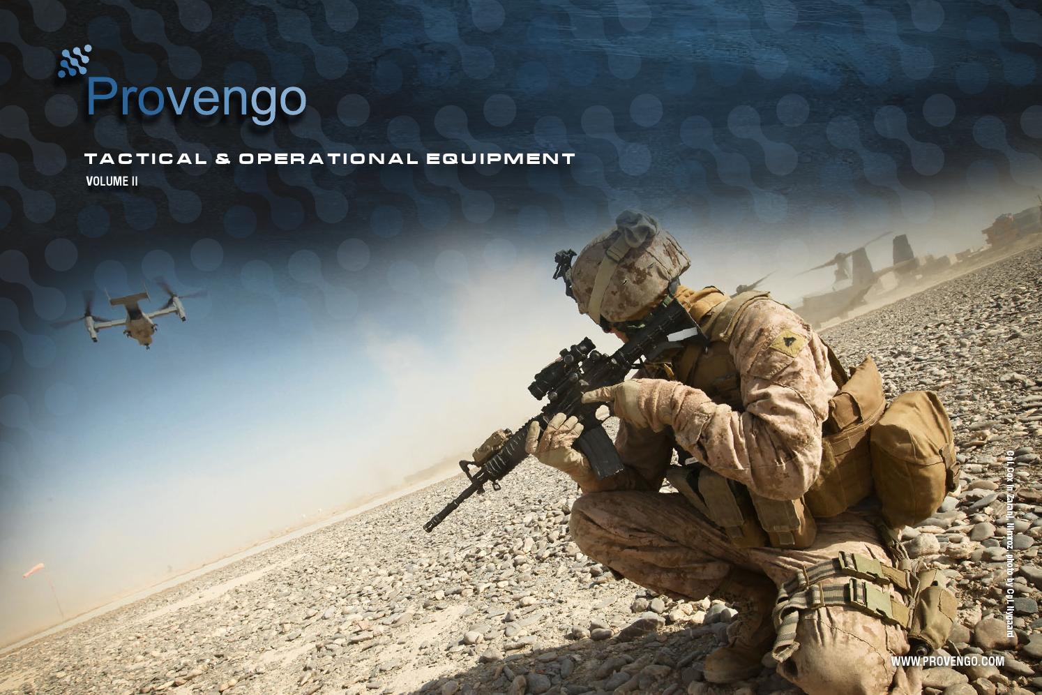 4f1928f2e11 Provengo Tactical   Operational Equipment Catalog by Provengo - issuu
