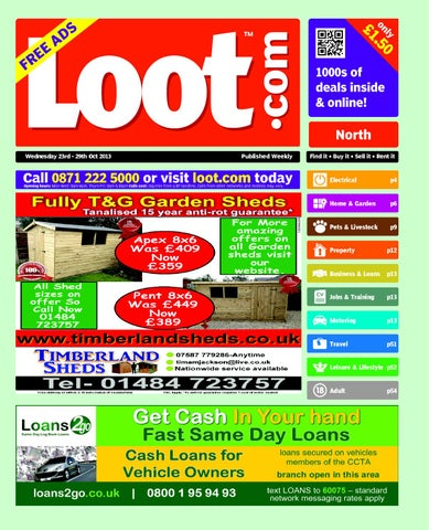 Loot north 23rd october 2013 by loot issuu page 1 fandeluxe Images