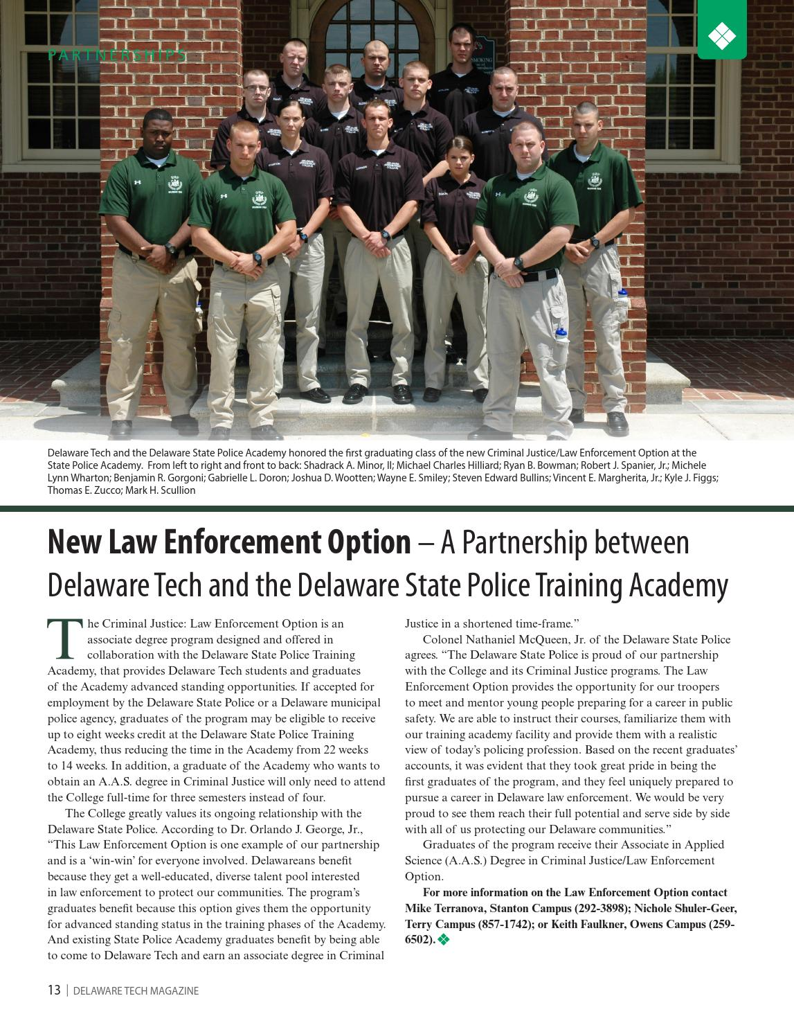 Delaware Tech Magazine - Fall/Winter 2013-14 by Delaware