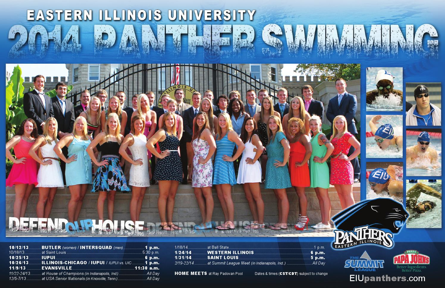 2013 14 Eiu Swimming Online Guide Yearbook By Eastern Illnois Athletics Issuu