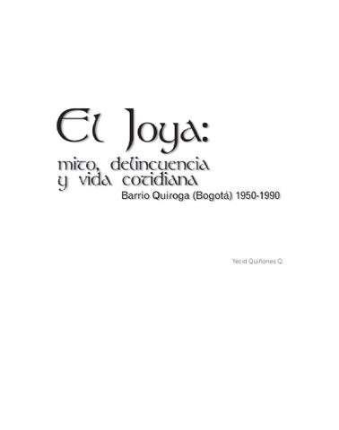 4a3c15657602 El Joya  mito