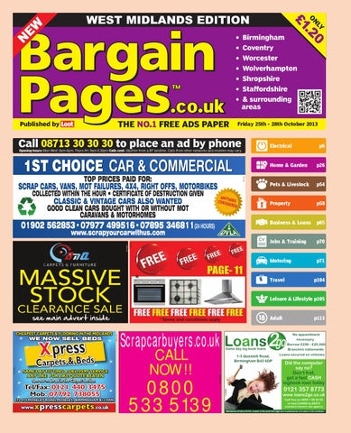 e2d9465f85e Bargain Pages Midlands