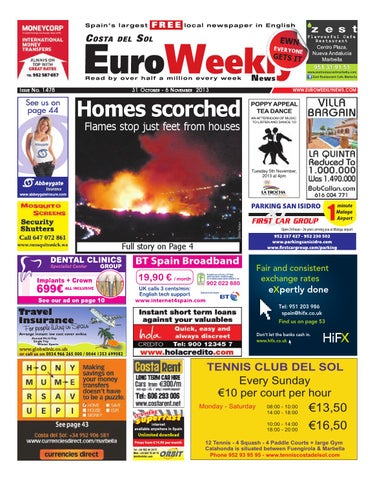 840c90f6cc Euro Weekly News - Costa del Sol 31 October - 6 November 2013 Issue ...