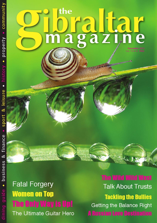 Gibraltar Magazine November 2013 By Rock Publishing Ltd Issuu
