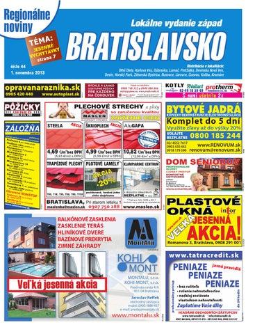 2e4ea027284d2 Bratislavsko 13 44 by Bratislavsko Bratislavsko - issuu