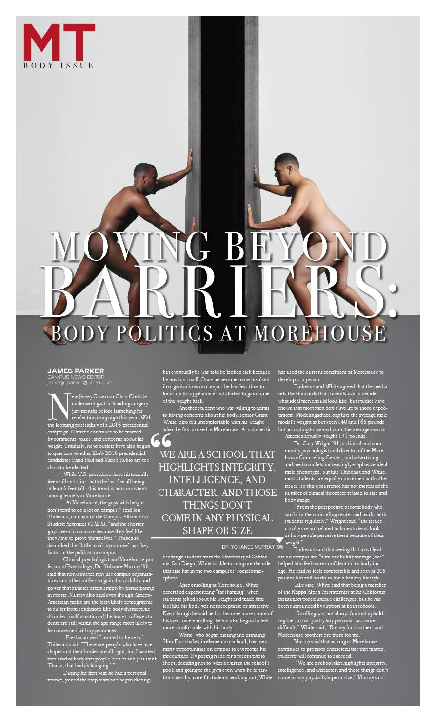 timeless design 059f4 d71ce MT-The Body Issue by Maroon Tiger - issuu