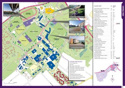 Loughborough Campus Map Loughborough University Campus Map   Bedroom 2018