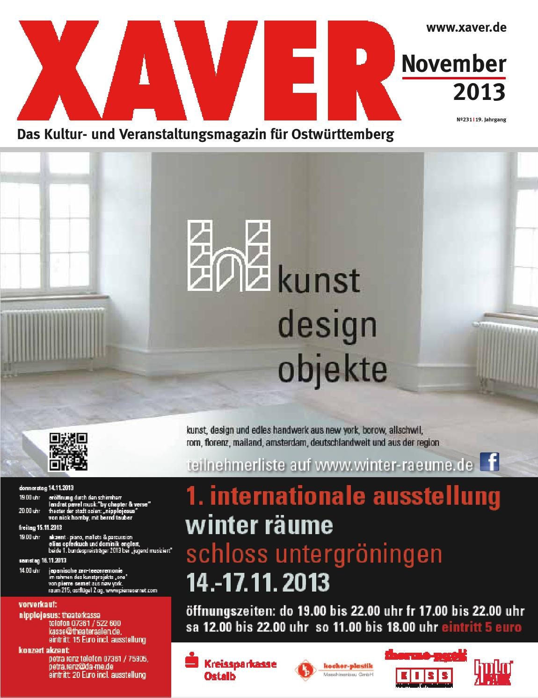 27fe5b846344 Xaver 11 13 by Hariolf Erhardt - issuu