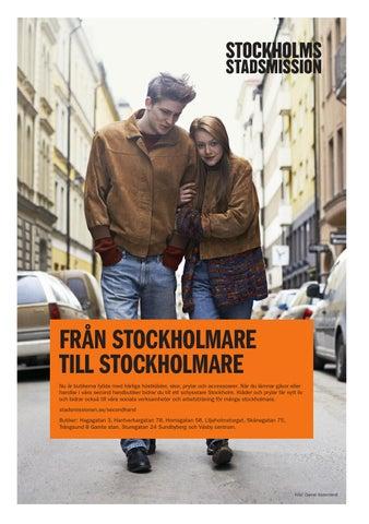 cbb0bdb6589 När du lämnar gåvor eller handlar i våra second handbutiker bidrar du till  ett schysstare Stockholm.