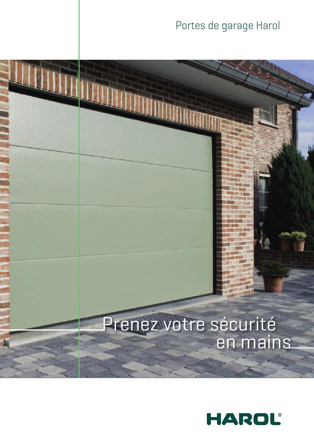 brochure harol portes de garage by marleen draelants issuu