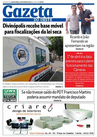 Edição Gazeta do Oeste 2190 by Portal G37 - issuu 94538ac4e00b2