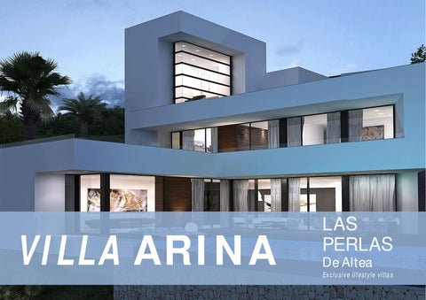 Villa arina las perlas de altea by royal residence lifestyle issuu