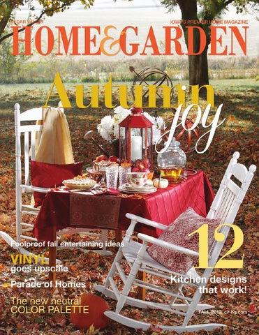 Cedar Valley Home Garden Fall 2013 By Waterloo Cedar Falls
