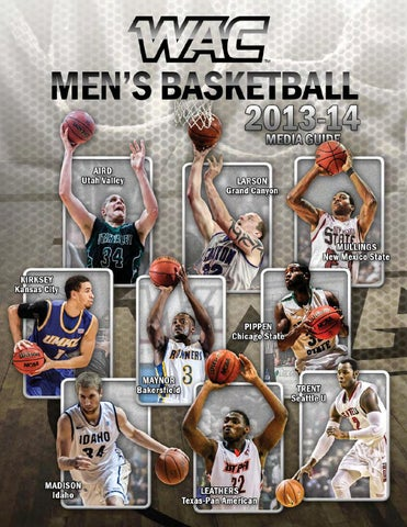 0a8c44884334 2013-14 WAC Men s Basketball Media Guide by Western Athletic ...