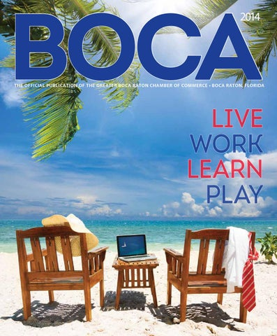 8a991c1602 Boca Raton Chamber of Commerce Annual by JES Media - issuu