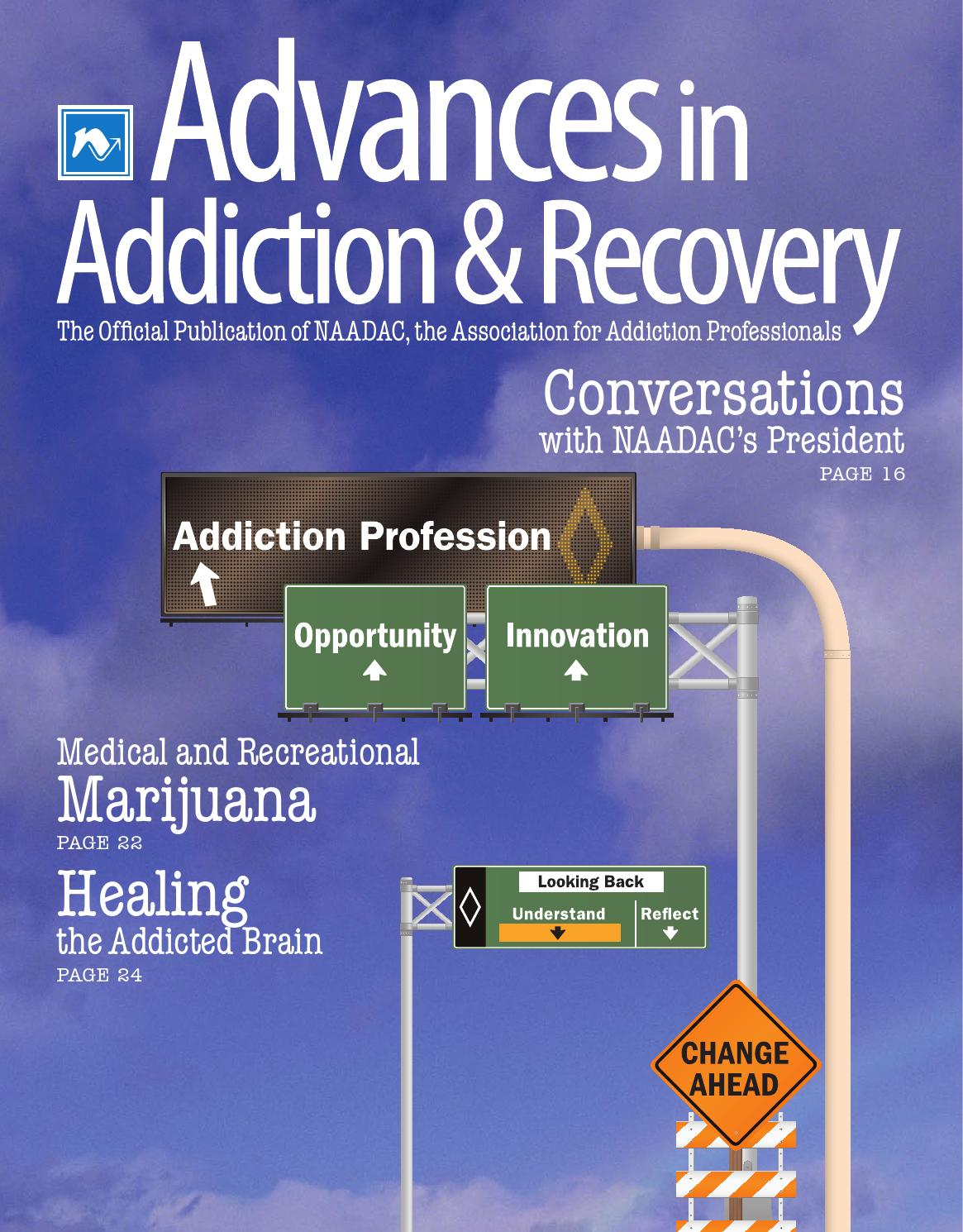Advances In Addiction Recovery Spring 2013 By Naadac The