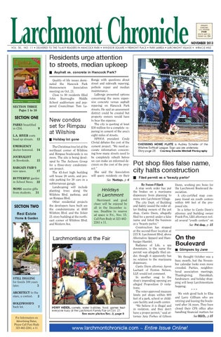 19fd449bf07 Lc issue 11 13 100 by Larchmont Chronicle - issuu