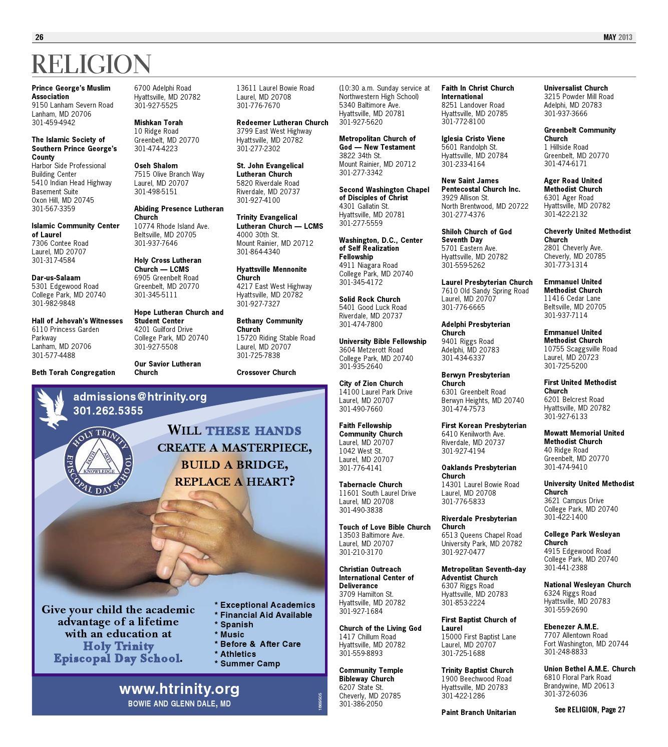 Pgcommguide z1 052313 by the gazette issuu for Olive garden hyattsville md 20782