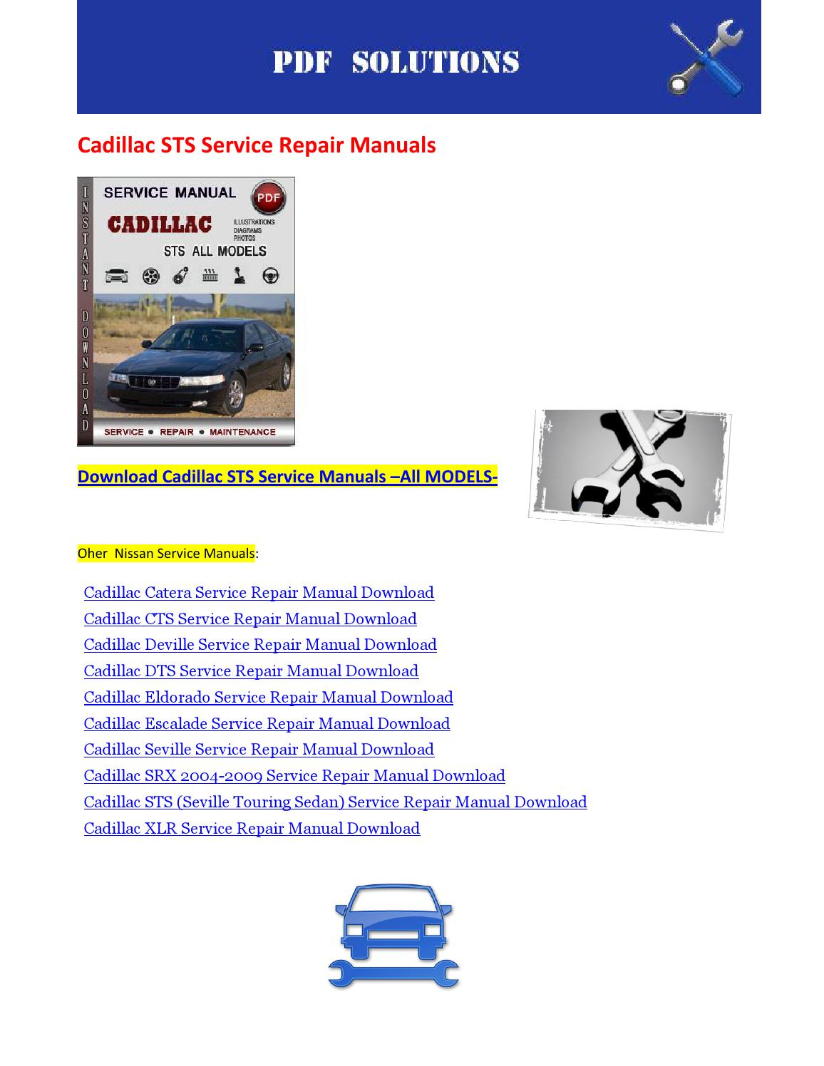 Cadillac Xlr Repair Manual Renault Workshop Service Wiring Diagram 2012 Pack Array Sts Download By Nissanexpert Issuu Rh