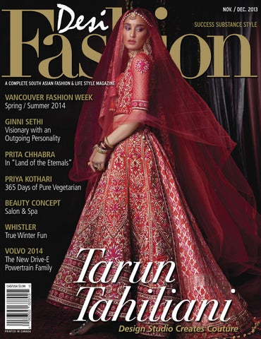 Desi Fashion Magazine Nov-Dec 2013