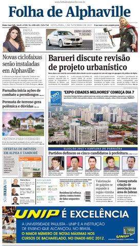 f7011e37a5 Edição 530 by Folha de Alphaville - issuu